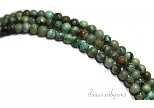 African turquoise beads 5mm