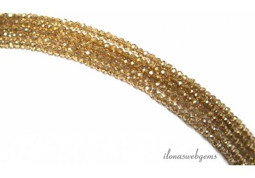 Swarovski crystal beads style approximately 2.5x1.5mm