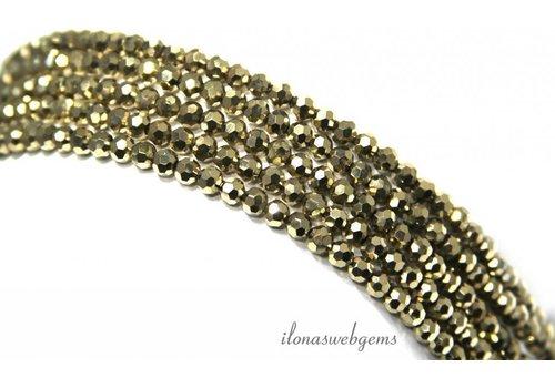 Swarovski style kristal kralen ca. 4.5x3.5mm