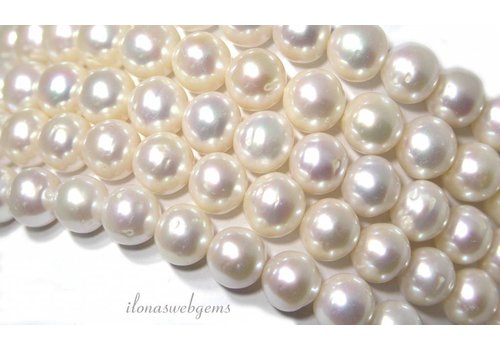 Freshwater pearls round approx 10mm