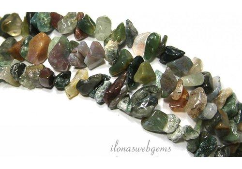 Indian Agaat split beads approx. 7mm