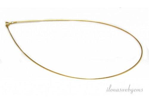 Vermeil Omega Halsband