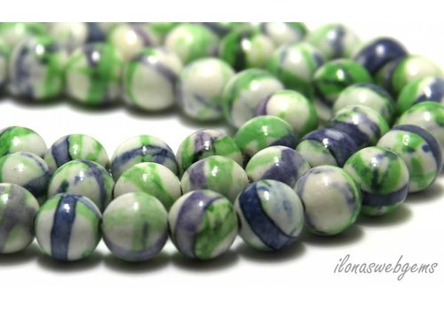 Jasper beads around 9mm
