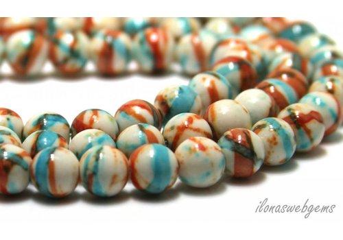 Jasper beads around 9mm