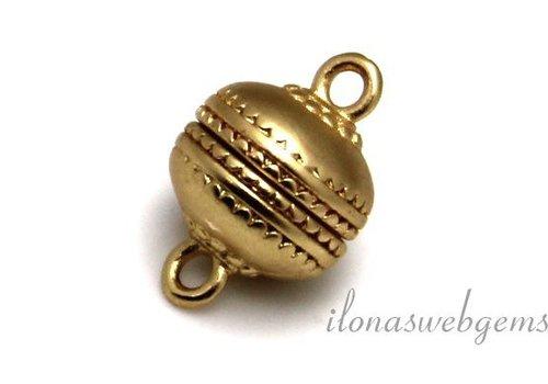 Gold plated (rosé) magnet lock mat approx. 12mm