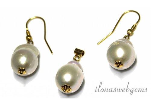 Inspiration set: Vermeil, Baroque pearls