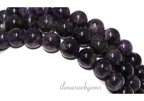 Amethyst beads around 10mm