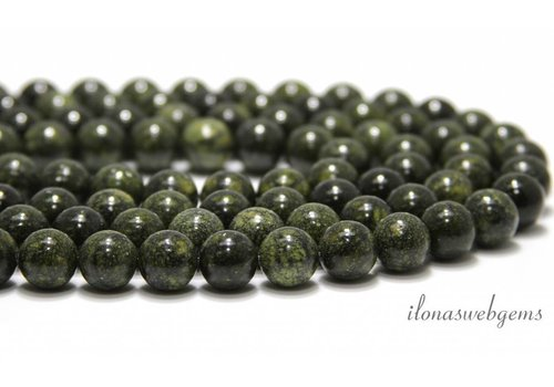 Serpentine beads around 12mm