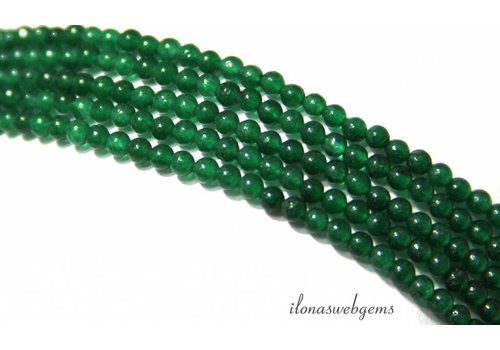 Green Jade beads mini about 2mm