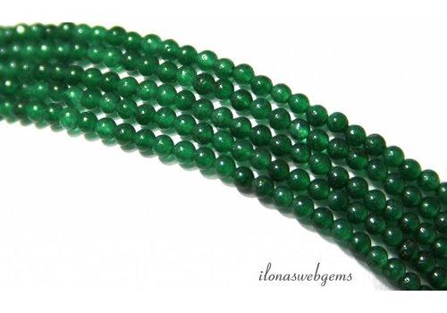 Groene Jade kralen mini ca. 2mm