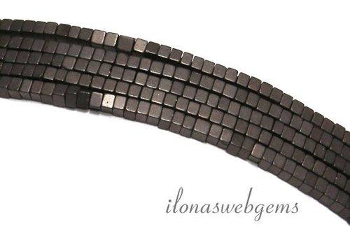 285 Stück Hämatit-Korn-mini grau-braun ca. 1,4 mm