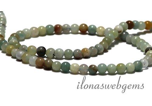 Amzonite beads around 4 mm