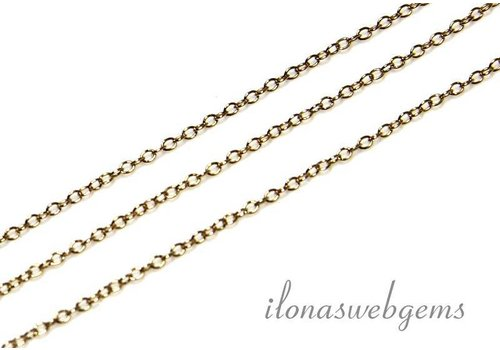 1 cm 14k / 20 Gold filled links / chain 1mm
