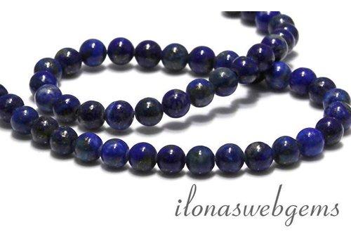 Lapis lazuli kralen rond ca. 6mm