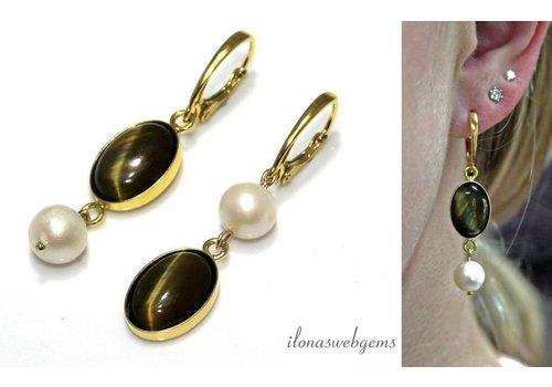 Inspiration: Opposite earrings