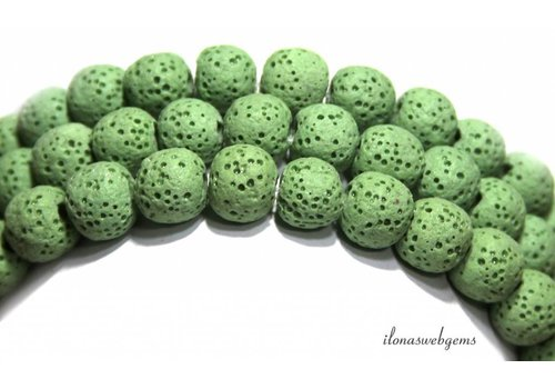 Lava rock beads around 10mm