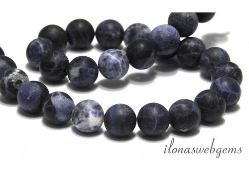 Sodalite beads mat around 10mm