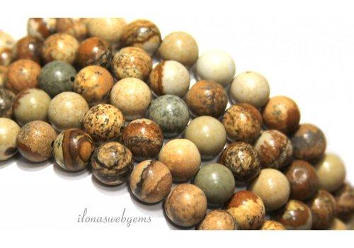 Desert Jasper beads around 10mm