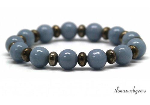 Inspiration: Beaded bracelet on elastic 12mm