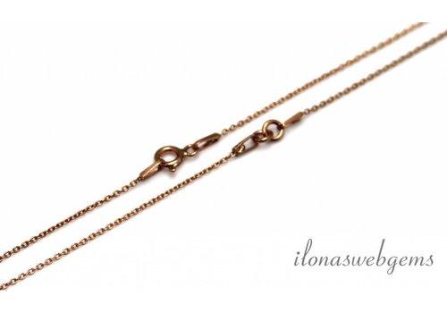 Rose Vermeil necklace 2 piece