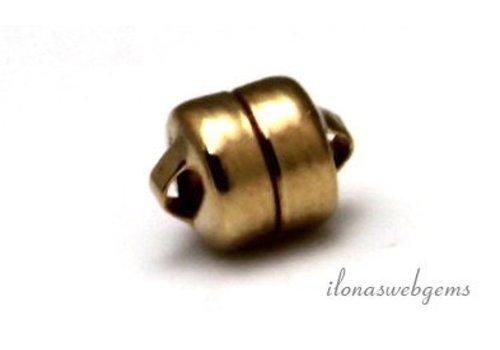 Gold gefüllt Magnetverschluss 5.5mm