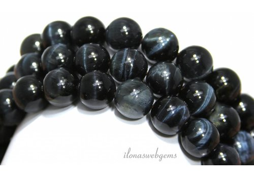 Blue Tiger eye Beads ca.12mm A quality