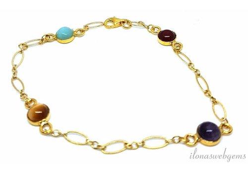 Inspiration: Perlenarmband auf elastischem  - Copy