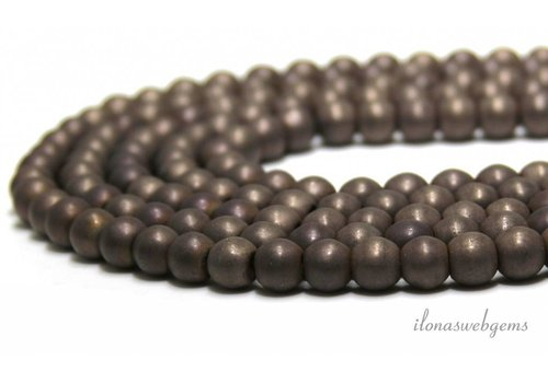 Hematite beads ca. 8mm - Copy