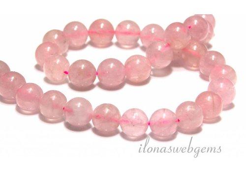 Rose quartz beads round app. 12mm