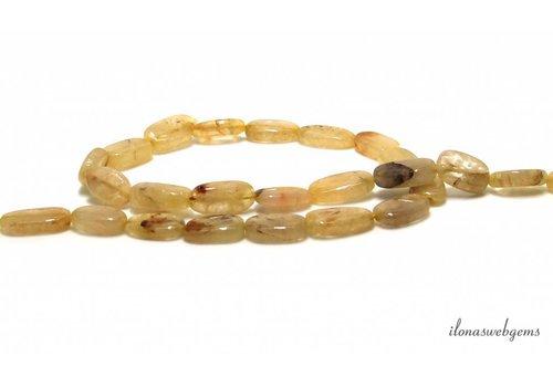 Aventurine / Aventurine beads oval around 12x7mm
