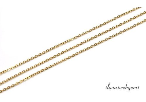 10 cm 14k / 20 Gold filled links / chain