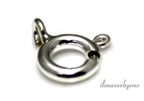 Sterling zilveren veerring ca. 5mm