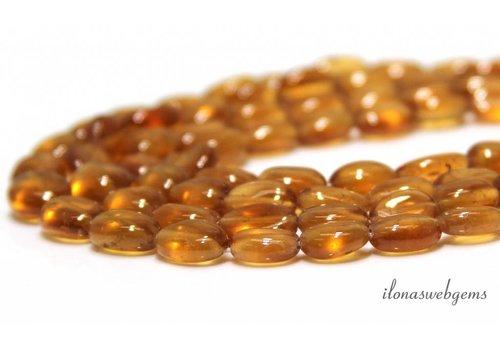 Grossulaar Garnet beads about 30cm
