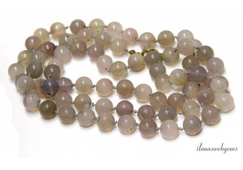 Weinlese-Perlen-Achat
