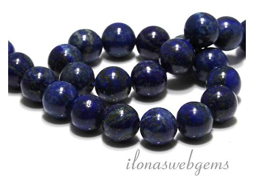 Lapis lazuli beads around 16mm
