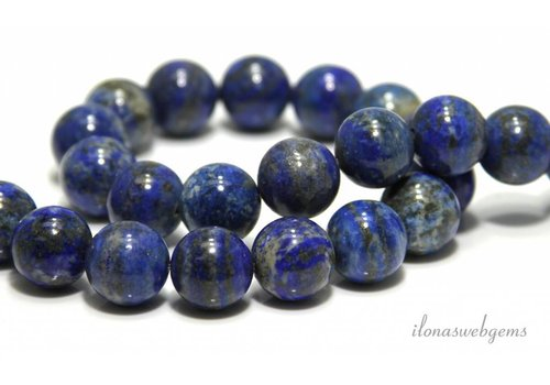 Lapis lazuli beads around 15.5mm