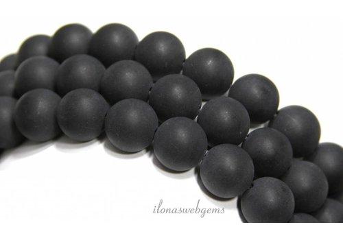 Onyx Perlen runde Matte ca. 12mm