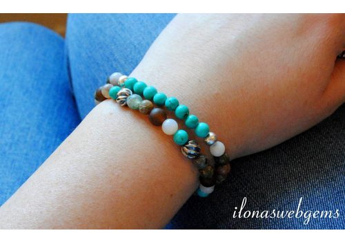 'Turquoise everywhere' inspiratie
