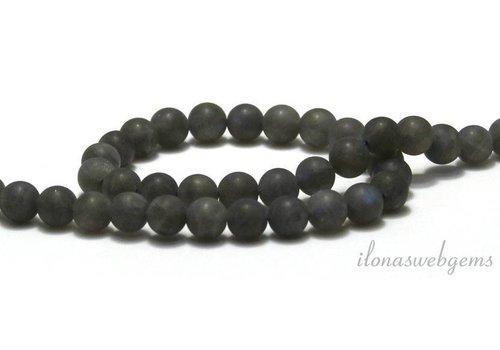 Labradorite beads mat around 6.5mm