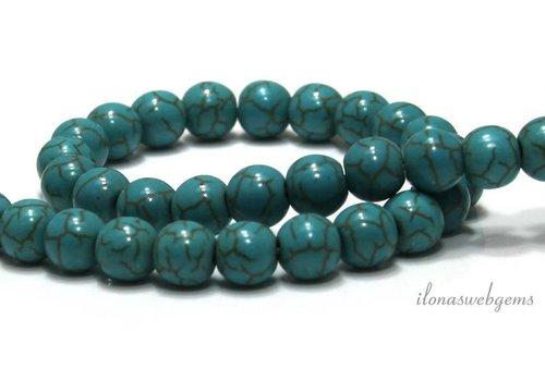 Howlite beads around 8mm