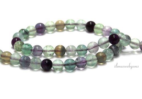 Fluorite beads around 8mm