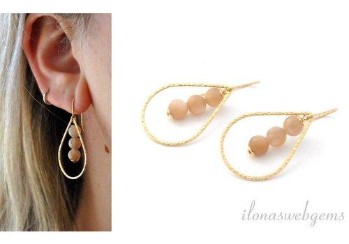 Inspiration: Moonstone earrings