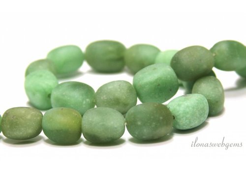 Jade nuggets about 15x12mm