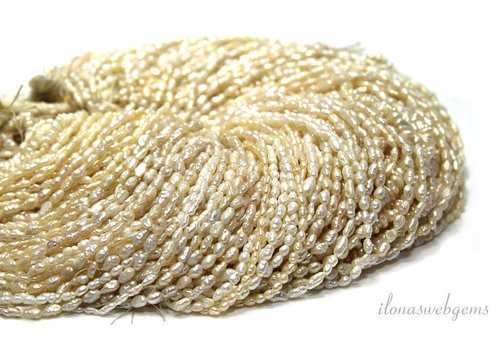 10 Strands of rice pearls