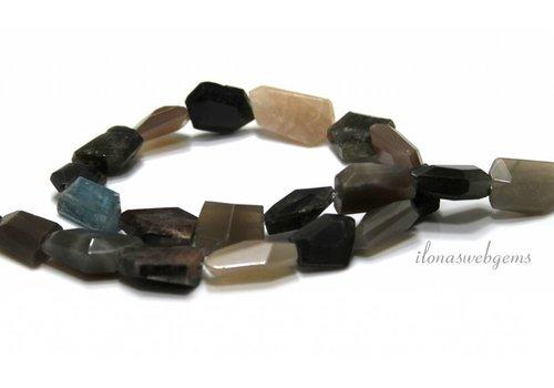 Free shape mix beads around 18x8mm