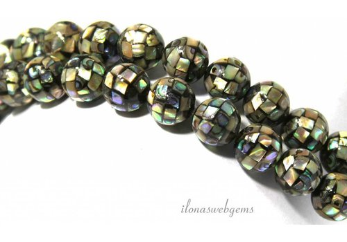 1 piece Abalone bead around 10mm.