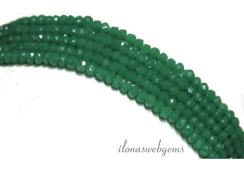 Swarovski style crystal beads approx 3x2mm