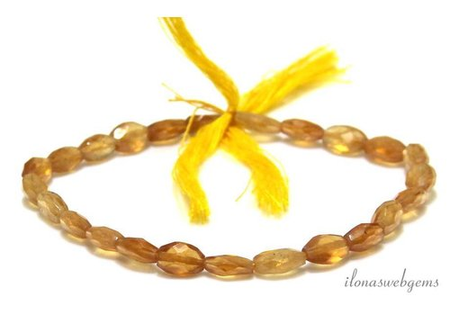 Hessonite beads faceted oval 10x7mm - Copy - Copy