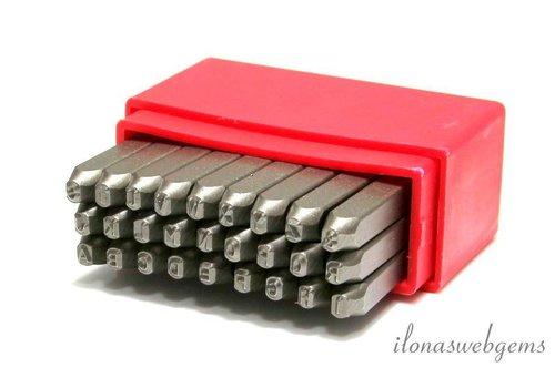 Stamp set Alphabet 2.5mm