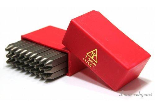 Stamp set Alphabet 2mm   - Copy